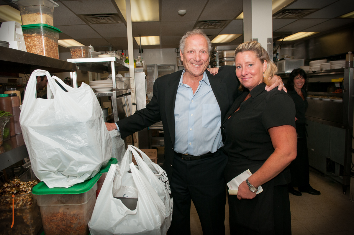 The Apollo Grill, donates to the Judie's Table at the St Lukes Hospice House.  Photography by Jacqueline Agentis