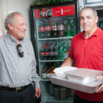 Paul Martellucci of Martellucci's Pizza Donating to the Hospice House