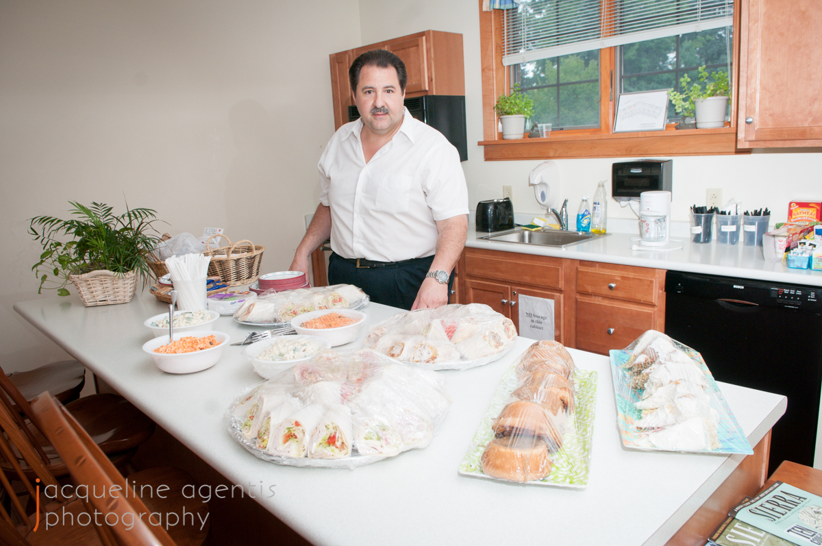 Chris Vallianatos, Owner of The Borderline, Setting Up Food Donations to the Hospice House
