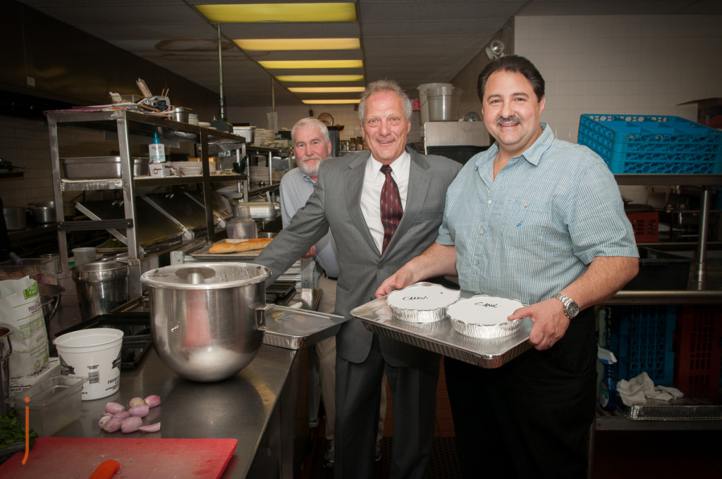 Chris Valianatos, Owner Of The Villa, Donates to Judie's Table