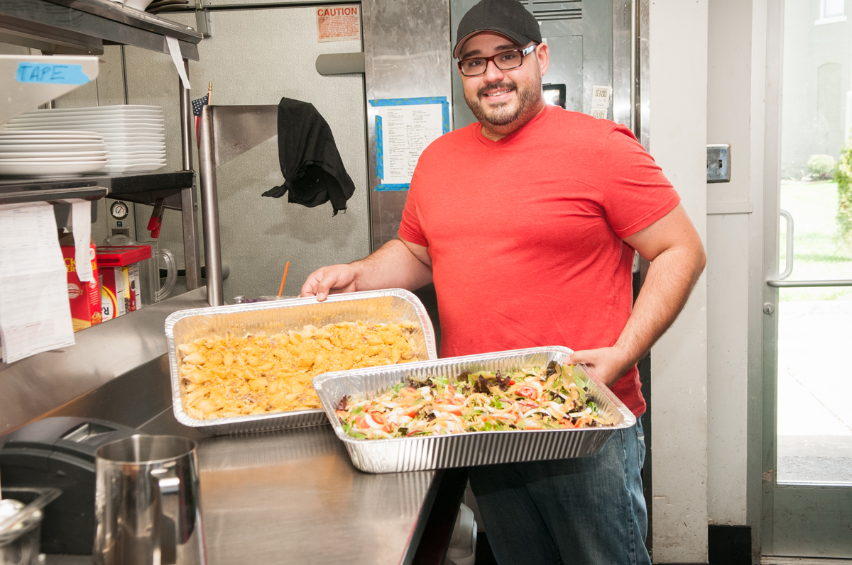 Dominic Lombardo, Owner and Executive Chef of The Mint Donates To Hospice House