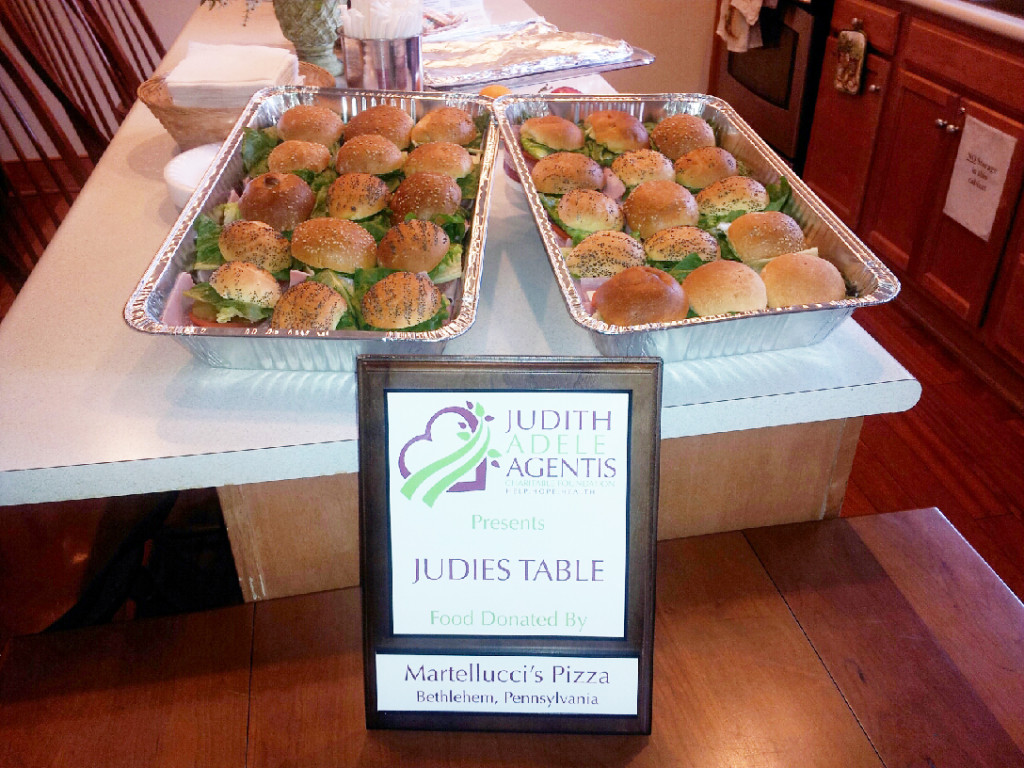 Martellucci's Pizza donates once again to Judie's Table at the St Lukes Hospice House