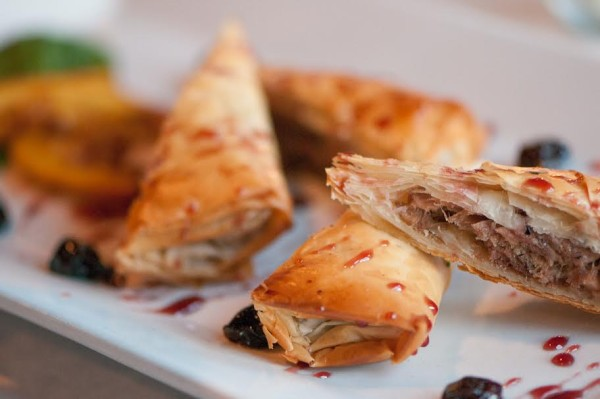 Yianni's Signature Duck Confit Baklava will be one of six courses at JAACF Benefit March 10.
